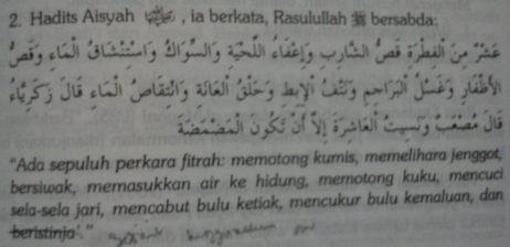 Sunnah-sunnah fithrah